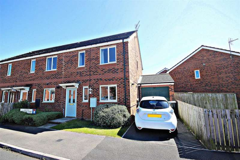 3 Bedrooms End Of Terrace House for sale in Griffiths Court, Bowburn, Durham