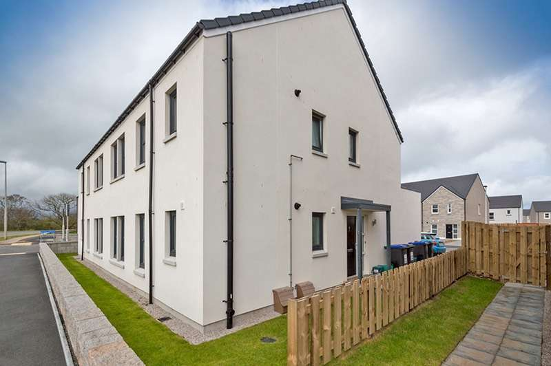 2 Bedrooms Flat for sale in 1 Duthie Gardens, Peterhead, Aberdeenshire, AB42