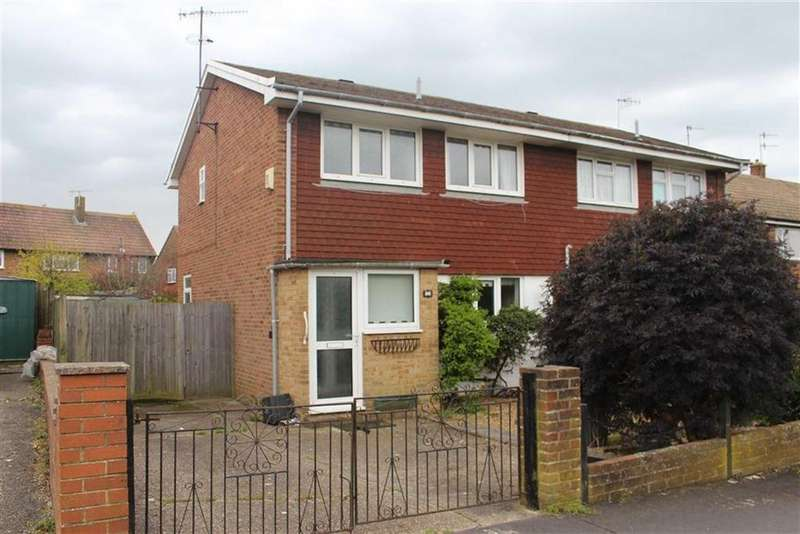 2 Bedrooms Semi Detached House for sale in Hythe Crescent, Seaford