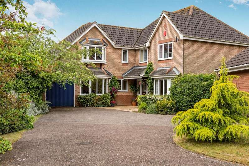 5 Bedrooms Detached House for sale in Wilkinson Way, Melton, Woodbridge