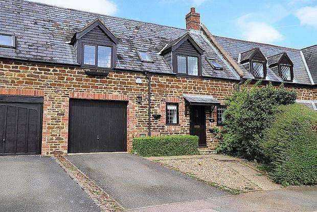 3 Bedrooms Terraced House for sale in Wootton Hill Farm, East Hunsbury, Northampton, NN4
