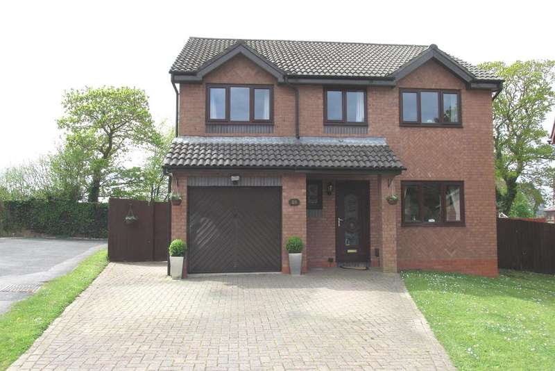 4 Bedrooms Detached House for sale in Porth Y Waun, Gowerton, Swansea