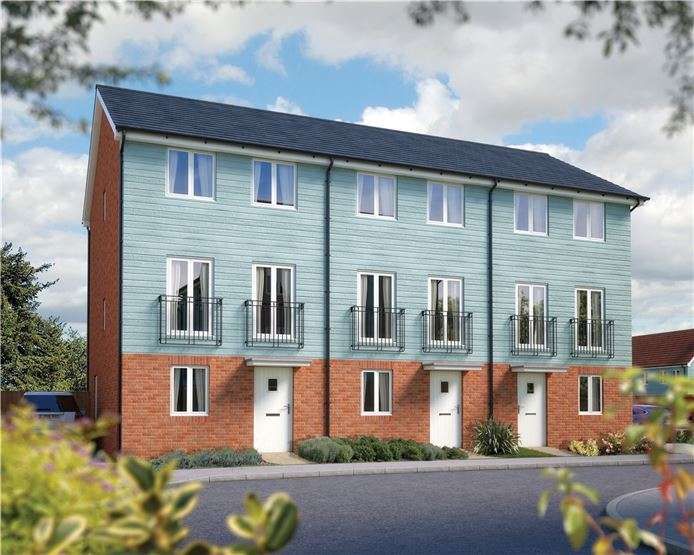 3 Bedrooms Town House for sale in The Winchcombe, Plot 76 Morris Gardens, Fordham Road, Soham