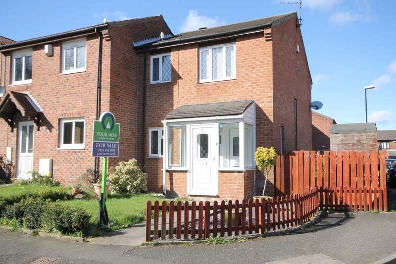 3 Bedrooms Semi Detached House for sale in Helmdon, Washington, NE37