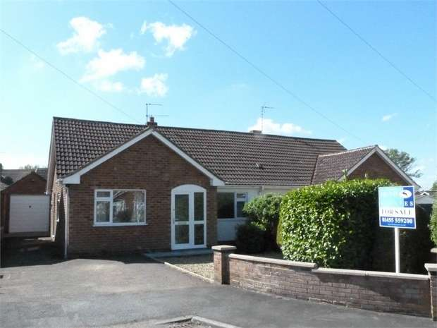 3 Bedrooms Semi Detached Bungalow for sale in Lutterworth