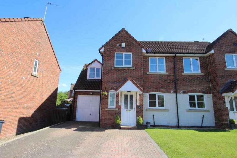 4 Bedrooms Semi Detached House for sale in Helvellyn Rise, Carlisle, CA2