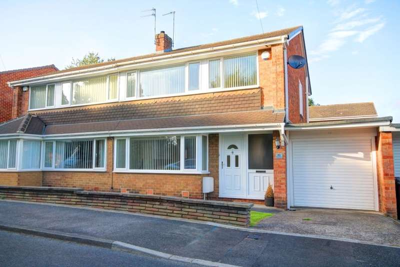 3 Bedrooms Semi Detached House for sale in Kingsmere, Chester Le Street, DH3
