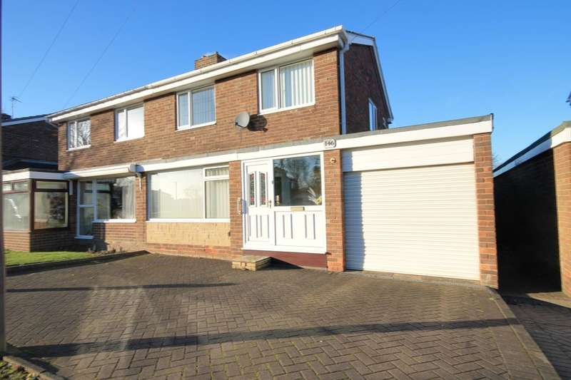 3 Bedrooms Semi Detached House for sale in Elmway, Chester Le Street, DH2