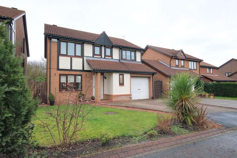 4 Bedrooms Detached House for sale in Castlereigh Close, Houghton Le Spring, DH4