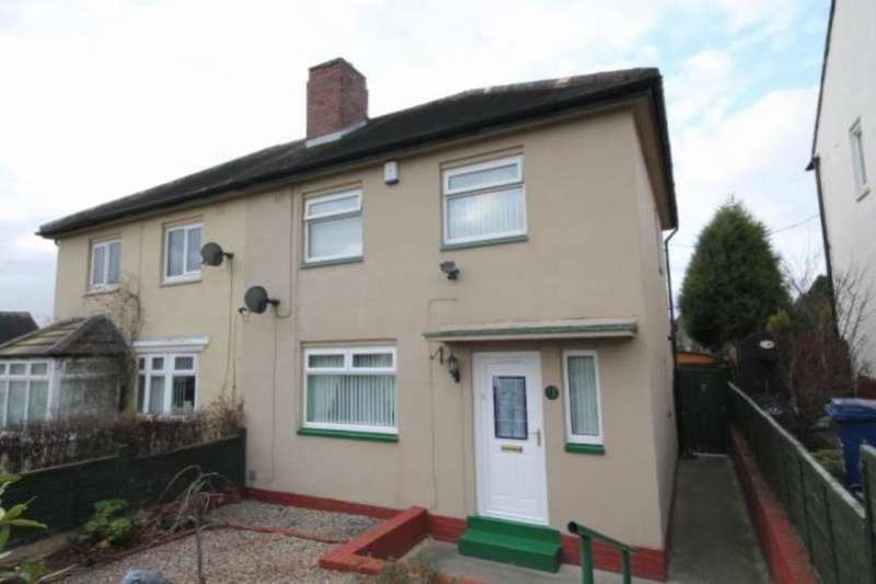 2 Bedrooms Semi Detached House for sale in Neville Road, Lemington, Newcastle Upon Tyne, NE15