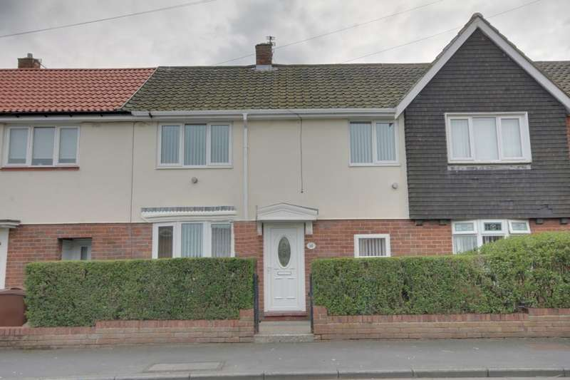 2 Bedrooms Property for sale in Naworth Drive, Hillheads Estate, Newcastle Upon Tyne, NE5