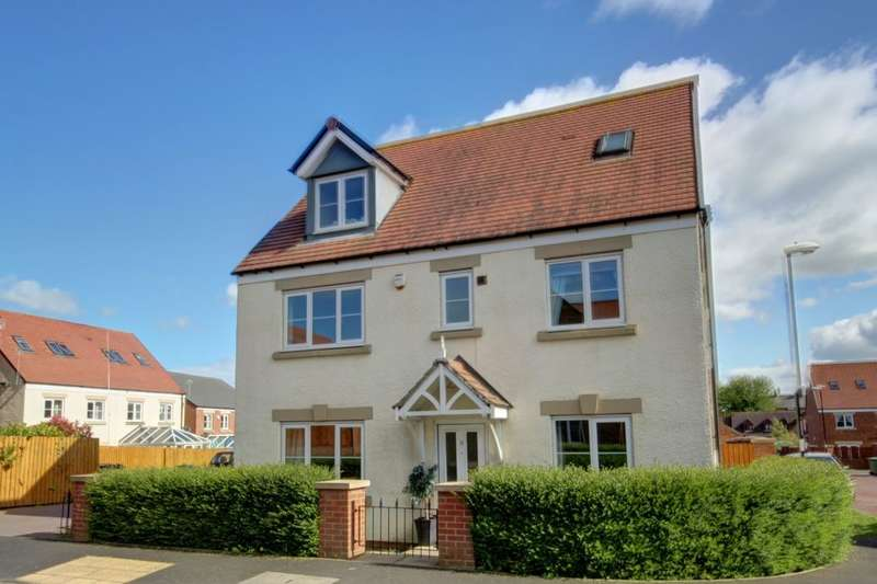 5 Bedrooms Detached House for sale in Barnwell View, Herrington Burn, Houghton Le Spring, DH4