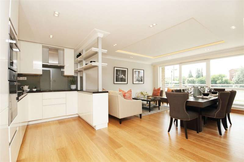 4 Bedrooms Flat for sale in King Henrys Reach, Manbre Road, Hammersmith, London