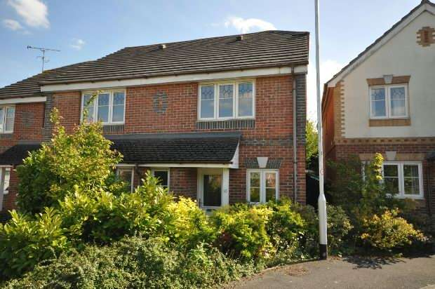2 Bedrooms End Of Terrace House for sale in Amber Close, Earley, Reading