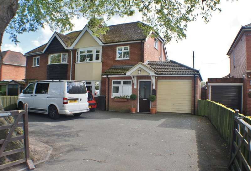 3 Bedrooms Semi Detached House for sale in Kings Acre Road, Kings Acre, Hereford, HR4