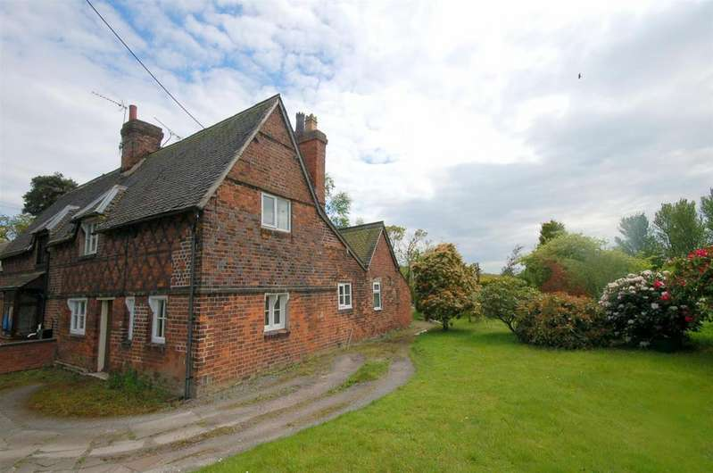 2 Bedrooms Semi Detached House for sale in Sandbach Road, Rode Heath