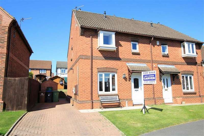 3 Bedrooms Semi Detached House for sale in Colwell Court, Newton Aycliffe, County Durham