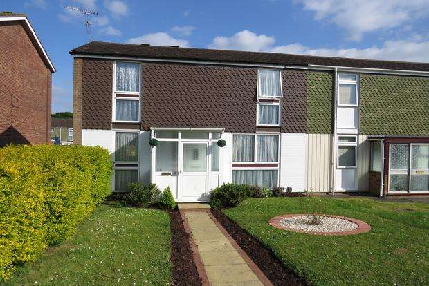 3 Bedrooms End Of Terrace House for sale in Whernside Way, Northampton, NN5