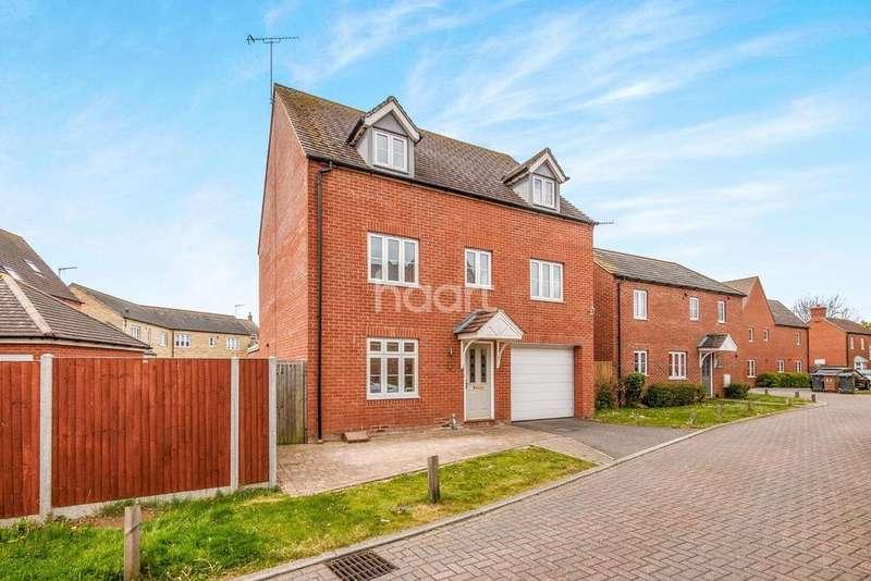 5 Bedrooms Detached House for sale in Finbracks, Great Ashby, Stevenage