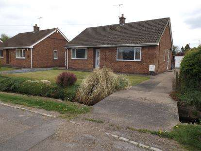 2 Bedrooms Bungalow for sale in Queens Walk, Nether Langwith, Mansfield, Nottinghamshire
