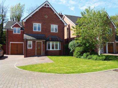 3 Bedrooms Detached House for sale in Warwick Gate, Aston, Nantwich, Cheshire