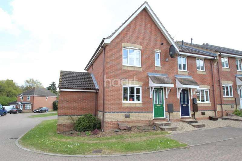 3 Bedrooms End Of Terrace House for sale in Swallowtail close, Pinewood