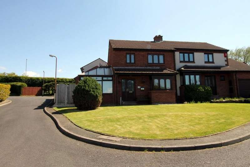 3 Bedrooms Semi Detached House for sale in Blackburn Drive, Carlisle