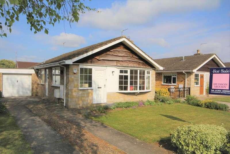 2 Bedrooms Detached Bungalow for sale in Deerstone Way, Dunnington, York, YO19