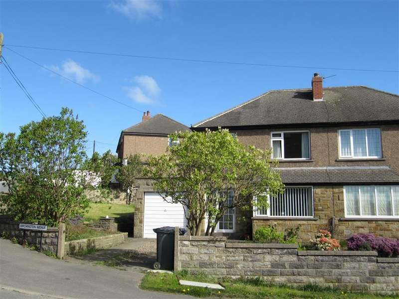 3 Bedrooms Semi Detached House for sale in Birchington Avenue, Birchencliffe, Huddersfield, HD3