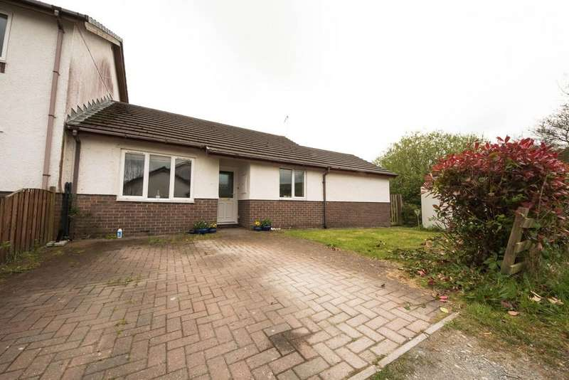 4 Bedrooms Semi Detached Bungalow for sale in Maes Afallen, Bow Street