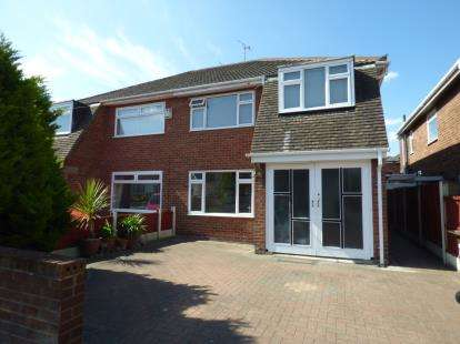 3 Bedrooms Semi Detached House for sale in Millcroft, Crosby, Liverpool, Merseyside, L23
