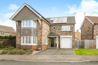 4 Bedrooms Detached House for sale in Village Gate, Howden Le Wear, Crook, Durham, DL15