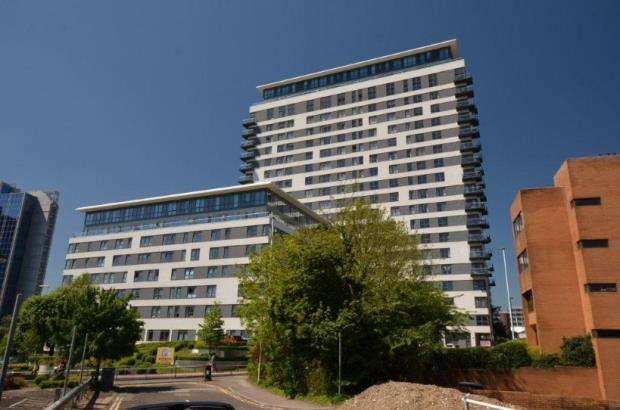 Flat for sale in Alencon Link, Basingstoke, Hampshire