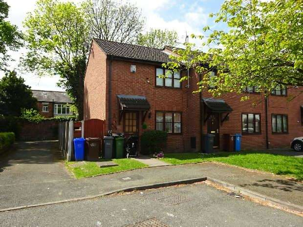 2 Bedrooms End Of Terrace House for sale in Abbotside Close, Whalley Range, Manchester