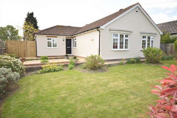 3 Bedrooms Detached Bungalow for sale in 61 Pilgrims Way West, Otford, Sevenoaks, Kent