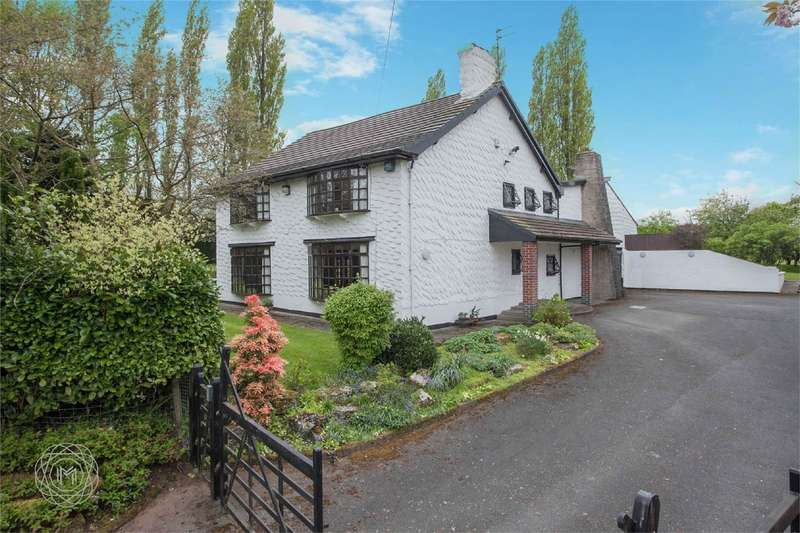 4 Bedrooms Detached House for sale in Sandy Brow Lane, Croft, Warrington, Cheshire