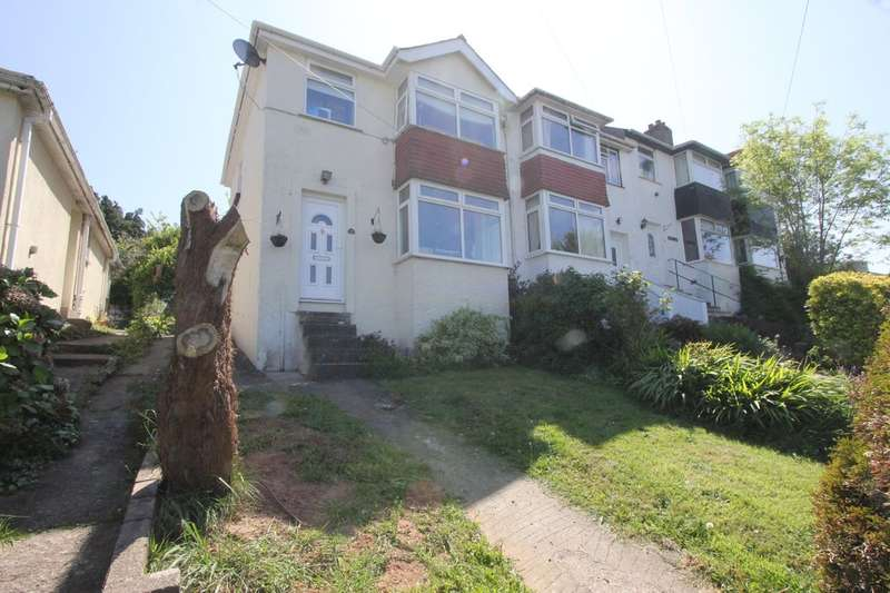 3 Bedrooms End Of Terrace House for sale in Colley Crescent, Paignton