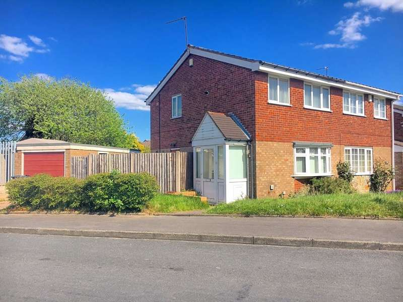 3 Bedrooms Semi Detached House for sale in MILLERSDALE DRIVE, WEST BROMWICH, WEST MIDLANDS, B71 3PX