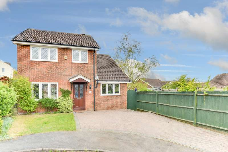 4 Bedrooms Detached House for sale in Foxglove Bank, Royston, SG8