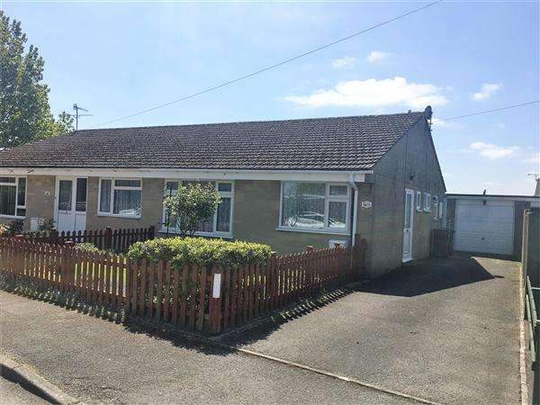 2 Bedrooms Semi Detached Bungalow for sale in Springfield Close, Shaftesbury