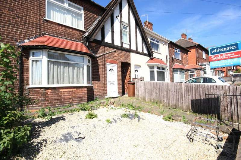 3 Bedrooms Semi Detached House for sale in Knighton Avenue, Bobbers Mill, Nottingham, NG7