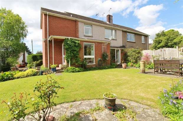 4 Bedrooms Semi Detached House for sale in Station Approach, Caerleon, Newport