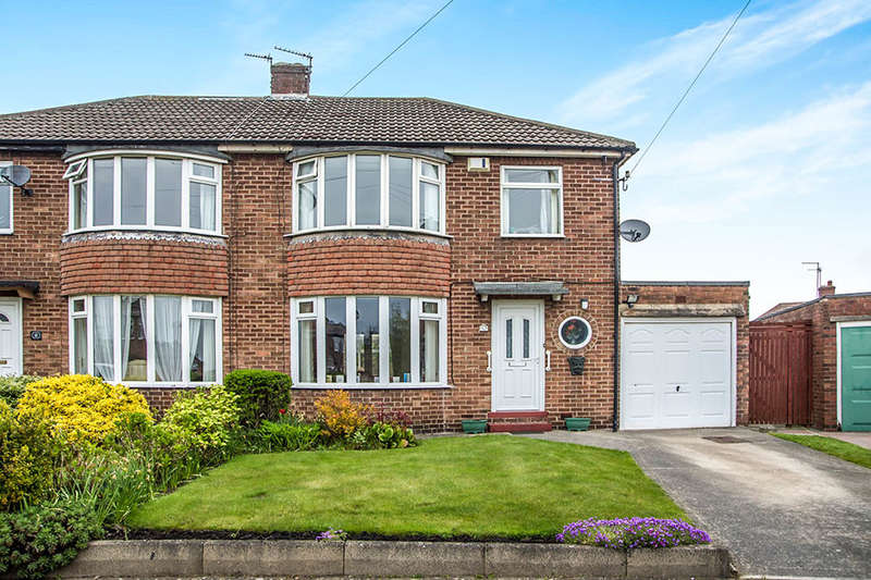 3 Bedrooms Semi Detached House for sale in Limewood Grove, North Gosforth, NEWCASTLE UPON TYNE, NE13