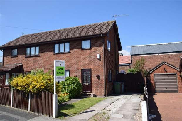 2 Bedrooms Semi Detached House for sale in Clipper View, New Ferry, Merseyside