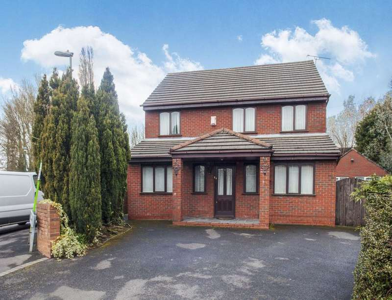 4 Bedrooms Detached House for sale in Sherwood Court, LIVERPOOL, L36