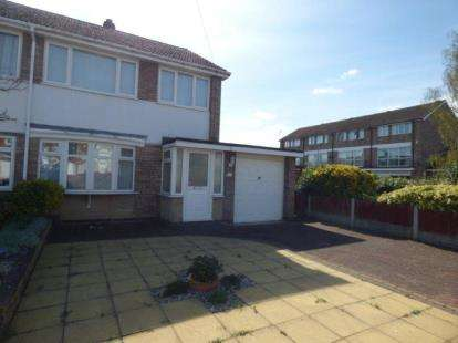 3 Bedrooms Semi Detached House for sale in Sambar Road, Fazeley, Tamworth