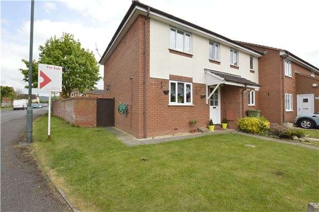 3 Bedrooms End Of Terrace House for sale in Chantry Gate, Bishops Cleeve, GL52 8UR