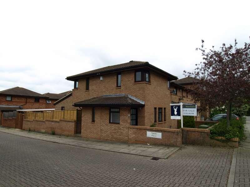 3 Bedrooms Detached House for sale in Tyson Place, Oldbrook, Milton Keynes, Buckinghamshire