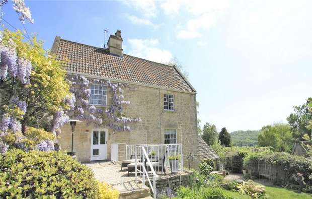 5 Bedrooms Semi Detached House for sale in The Old Bakery, 273 Turleigh, Bradford on Avon, Wiltshire