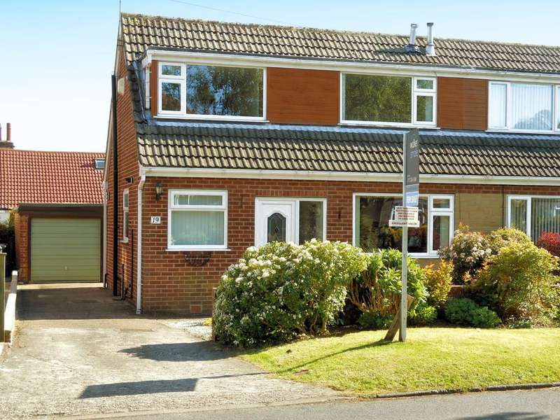 3 Bedrooms Semi Detached House for sale in The Poplars, Bramhope